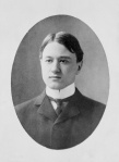 Ives at his Yale graduation, 1898